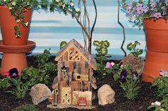 Shannon's Shanonigins: Basement Window-Well Fairy Garden