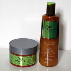 Resenha Shampoo (Low-Poo) e Máscara (No-Poo) Oro Argan Monoi | Bioderm | Blog Beleza de Creuza! | Amanda Ercília