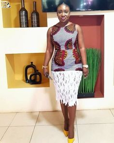 african wear dress with lace, African fashion, Ankara, kitenge, African women dr. from Diyanu African Fashion Designers, African Fashion Ankara, Ghanaian Fashion, Latest African Fashion Dresses, African Print Fashion, Africa Fashion, African Style, African Dresses For Women, African Print Dresses