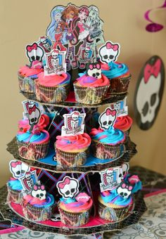 Monster High Cupcakes Walmart Excellent | Cupcake Ideas