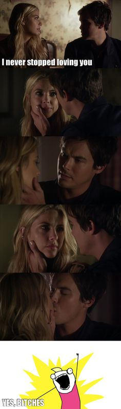 ❤️❤️❤️ you can never stop loving #haleb or just the Caleb part too...