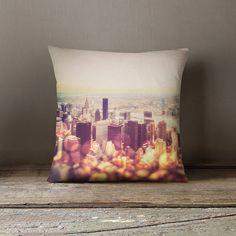 New york pillow cover,new york city pillow,NYC cushion,cushion cover,decorative pillow cover,vintage throw pillow,skyline pillow,home decor