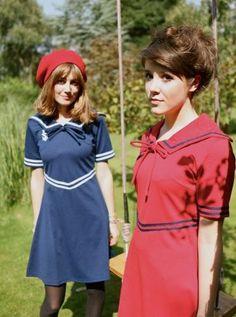 New Vintage Retro Style Sailor Dress