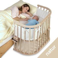 """babybay 100100 - Beistellbett/Baby-Bettchen """"Das Original"""" natur unbehandelt: Amazon.de: Baby"""