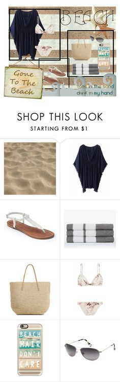 """""""Beach Day"""" by musie-della ❤ liked on Polyvore featuring Apt. 9, James Perse, Target, Zimmermann, Casetify, Maui Jim, Summer, beach and bikini"""