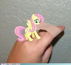 my little pony, friendship is magic - Fluttershy Makes Everything Better. Why can't she be there for me when I need band aids? Still love this picture. Fluttershy is best pony.