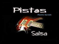 PISTA DE SALSA EN Dm PARA IMPROVISAR EN GUITARRA, PIANO, BATERIA, SAXO, TROMPETA ETC - YouTube