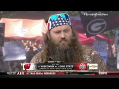 Willie Robertson of DUCK DYNASTY (and Bubba Watson) on ESPN College GameDay (Full Segment HD)