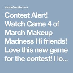 Contest Alert! Watch Game 4 of March Makeup Madness Hi friends! Love this new game for the contest! I love these two palettes but in this game the winner must be KVD Shade + Light Eye Contour Palette.. Because it is sensational and I love its pigmentation, its tones are beautiful and it is ideal for any skin type, pigmentan super well and all my clients love it! I am a professional make-up artist and I always keep this brand in mind. KVD quality is indisputable .. I am very happy with all…