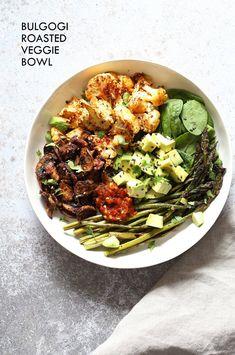 Bulgogi Roasted Spring Veggie Bowl - Vegan Richa