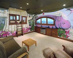 Kinderzimmer Ideen - lustige und farbige Wandgestaltung für mehr Spaß - http://wohnideenn.de/kinderzimmer/11/kinderzimmer-ideen-wandgestaltung.html