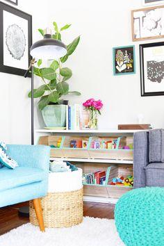 playroom Stylish Toy Storage Ideas - How to Organize Toys Living Room Toy Storage, Dog Toy Storage, Wood Storage, Small Storage, Diy Storage, Storage Ideas, Storage Bins, Toy Storage Furniture, Creative Storage