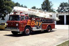 PASCAGOULA, MS fire SLIDE: SNKL-1 1975 PIERCE