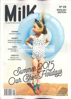 milk magazine cover - Cerca con Google