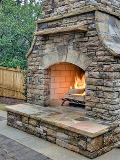 DIY Design - Outdoor Fireplace Design Ideas to Suit Every Style on HGTV