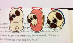 Puglie Mini Magnetic Bookmarks by craftedvan on Etsy