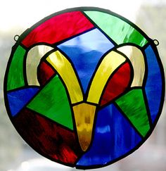 ♈ Aries Stained Glass ♈