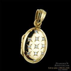 Charles Green Jewelry - Charles Green 18kt diamond locket
