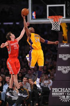 4/06/12 Rockets vs Lakers