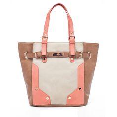 Melie Bianco Ibis Tote Bone up to 70% off | Handbags | Little Black Bag