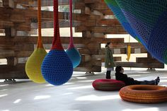 Crochet playground by diggle, via Flickr