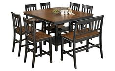 Our new table set......Owingsville Counter Height Extension Dining Table