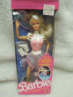 Barbie doll in 'Ice Capades Barbie' 50th Anniversary 1989 | eBay