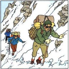 Tintin au Tibet Tintin Au Tibet, Herge Tintin, Jean Giraud, Ligne Claire, Travel Scrapbook, Space Crafts, Illustrators, Pop Art, Fairy Tales