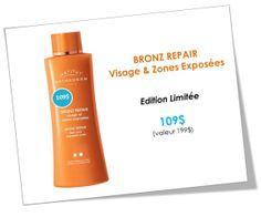 BRONZ REPAIR est en promotion... quantité limitée... offert au Spa Infinima!