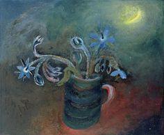 Winifred Nicholson - Borage, Herb of Gladness 9.10.17