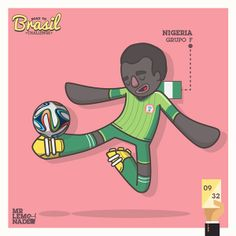 Road to Brasil Challenge by Mr. Lemonade, via Behance