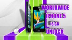 Worldwide iPhone 5 16GB Unlock Permanent Official Factory Guaranteed