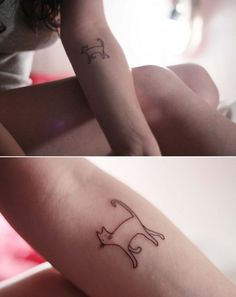 cat tattoo | Tumblr