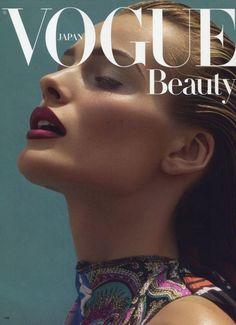 Edita Vilkeviciute for Vogue Japan