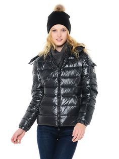 moncler black puffer jacket mens