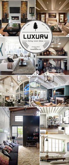 Dream features: luxury living room design ideas