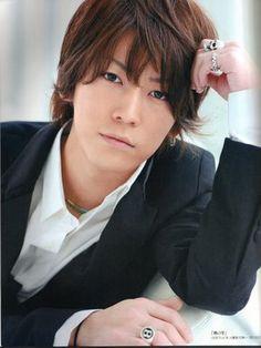 Japanese actor Kazuya Kamenashi...so cute.