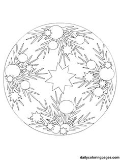 Christmas Ornament Coloring Pages | christmas ornament coloring pages - Google Images Search Engine