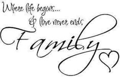 So true.Love my family! Cute Quotes, Great Quotes, Words Quotes, Wise Words, Quotes To Live By, Funny Quotes, Inspirational Quotes, Vinyl Wall Quotes, Card Sayings