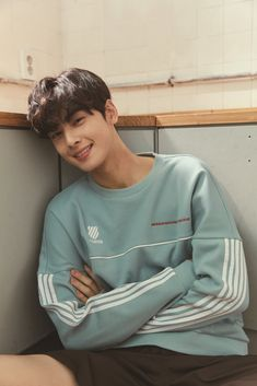 Cha Eunwoo on K-Swiss 2019 S/S Lookbook #ASTRO #아스트로 #ChaEunwoo #차은우