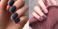 Οι πιο trendy ματ αποχρώσεις νυχιών που σού προτείνουμε Nails, Beauty, Finger Nails, Ongles, Beauty Illustration, Nail, Nail Manicure