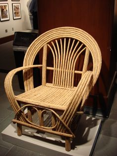 I love bent willow furniture!! It's very comfortable!!