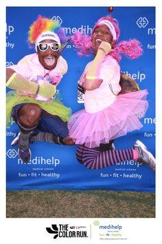 Color Run Johannesburg / Medihelp Photobooth