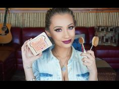 Peanut Butter and Jelly Makeup Tutorial With Artis Brushes | Nicol Concilio - YouTube