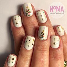 Christmas Nail Designs - My Cool Nail Designs Xmas Nails, Holiday Nails, Halloween Nails, Fun Nails, Valentine Nails, Christmas Nail Designs, Christmas Nail Art, Christmas 2019, Nail Art Noel