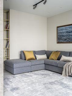 МЕТРАЖ: 70 м2  ДИЗАЙН: ЖАННА НАВОЛОЦКАЯ Couch, Furniture, Home Decor, Homemade Home Decor, Sofa, Sofas, Home Furnishings, Interior Design, Couches