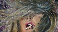 Haar in the Wind Acryl