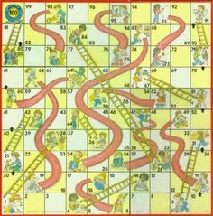Chutes and Ladders Board Game, this should be in vintage, but oh well...