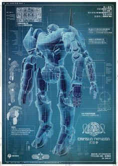 """Guillermo del Toro is making a giant robot/monster film. HK's robot, """"Jaeger Crimson Typhoon."""" I'm kind of intrigued."""