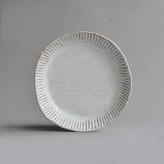 Round Fluted Serving Plate – Nom Living